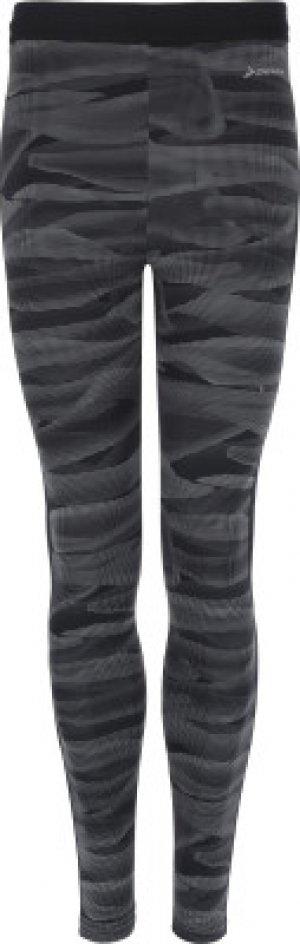 Тайтсы мужские , размер 50 Demix. Цвет: черный
