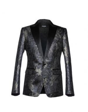 Пиджак DSQUARED2. Цвет: свинцово-серый