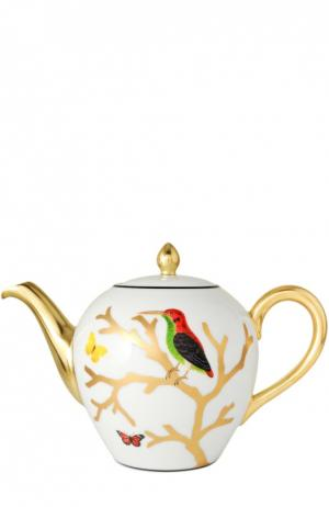 Чайник Aux Oiseaux Bernardaud. Цвет: бесцветный