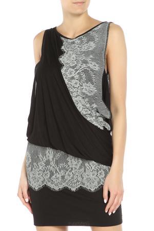 Платье PLEIN SUD JEANIUS. Цвет: черный