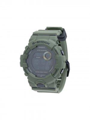 Электронные наручные часы 51 мм G-Shock. Цвет: зеленый