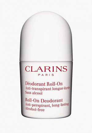 Дезодорант Clarins DEODORANT ROLL-ON, 50 мл.. Цвет: белый