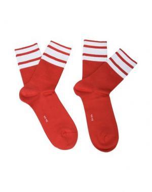 Короткие носки BURLINGTON. Цвет: красный