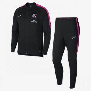 Мужской футбольный костюм Paris Saint-Germain Dri-FIT Squad - Черный Nike