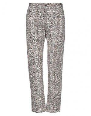 Джинсовые брюки ROBERTO CAVALLI. Цвет: белый