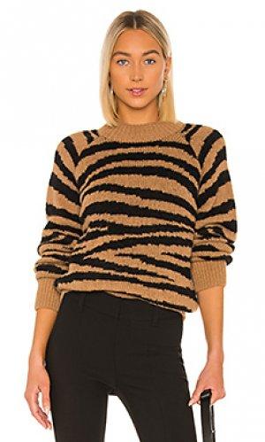 Пуловер jemima A.P.C.. Цвет: коричневый