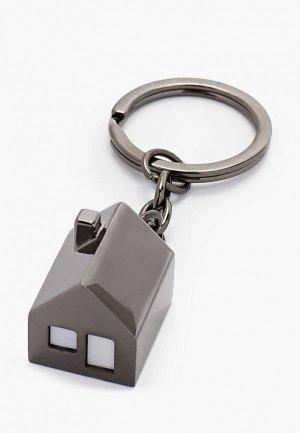 Брелок Philippi MY HOUSE. Цвет: серебряный