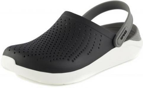 Шлепанцы LiteRide, размер 43-44 Crocs. Цвет: черный