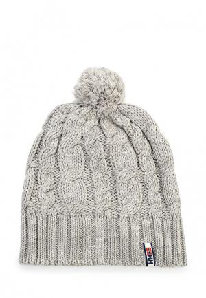 Комплект шапка и варежки Helly Hansen MONTREAL CHUNKY KNIT SET. Цвет: серый