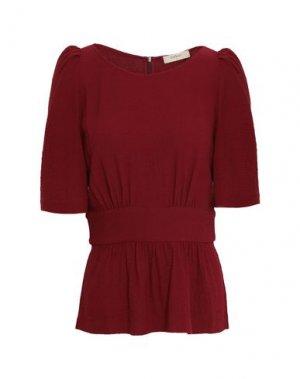 Блузка BA&SH. Цвет: красно-коричневый