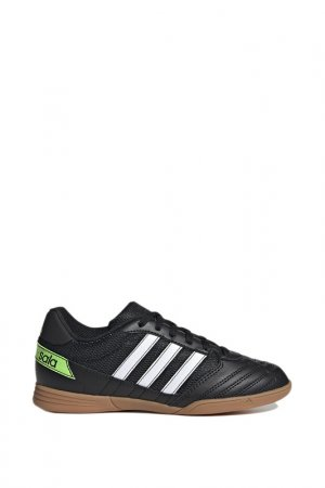 Бутсы Super Sala J CBLACK adidas. Цвет: черный
