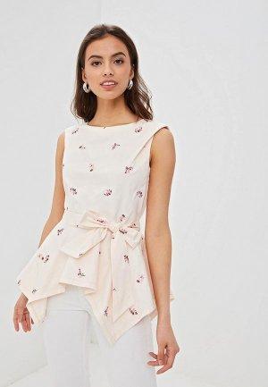 Блуза EMI. Цвет: розовый