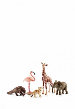 Набор игровой Schleich Животные дикой природы. Цвет: разноцветный