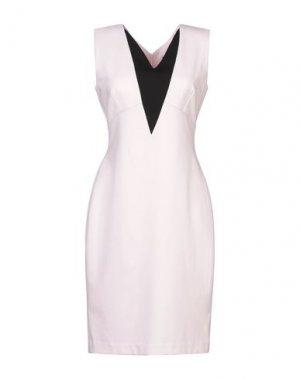 Платье до колена 1-ONE. Цвет: розовый