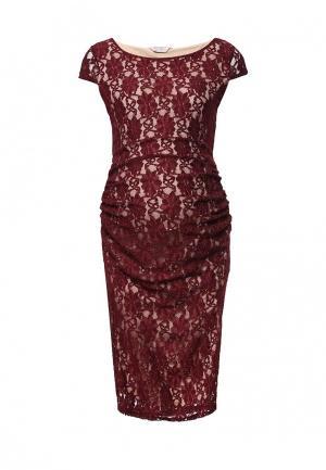 Платье Dorothy Perkins Maternity. Цвет: бордовый