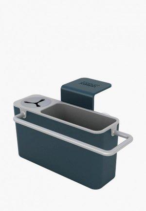 Подставка для кухонных инструментов Joseph Sink Aid. Цвет: серый
