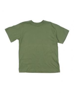 Футболка BRUMS. Цвет: зеленый-милитари