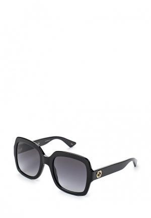 Очки солнцезащитные Gucci GG0036S 001. Цвет: черный