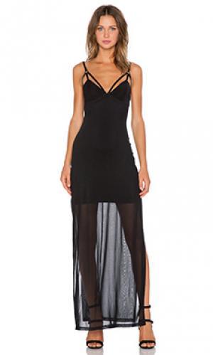 Платье after day Evil Twin. Цвет: черный