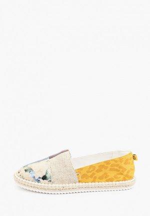 Эспадрильи Desigual. Цвет: разноцветный