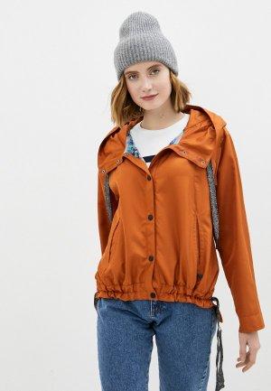 Ветровка Dimma. Цвет: оранжевый
