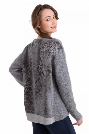 Пуловер Marc Cain. Цвет: серый