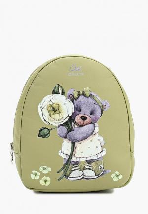 Рюкзак Я+я. Цвет: зеленый
