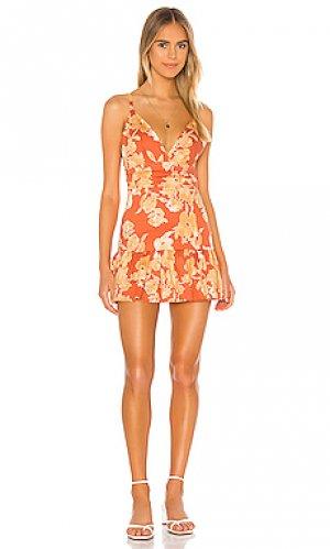 Мини платье dee Privacy Please. Цвет: оранжевый