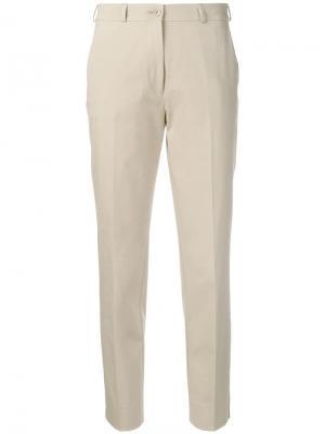 Укороченные зауженные брюки чинос Etro