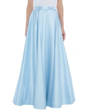 Длинная юбка LEXUS. Цвет: небесно-голубой