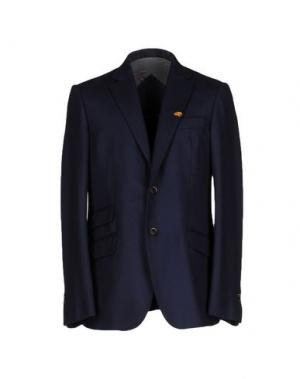 Пиджак GUIDO DI RICCIO. Цвет: темно-синий