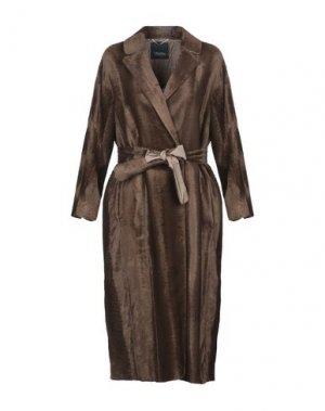 Легкое пальто 'S MAX MARA. Цвет: хаки