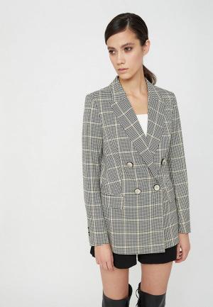 Пиджак Lime. Цвет: серый