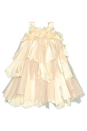 Платье Kate Mack. Цвет: золотой