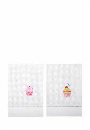 Набор полотенец кухонных Bellehome Cakes 50х70