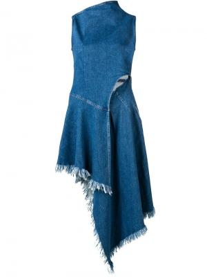 Асимметричное платье 7 For All Mankind