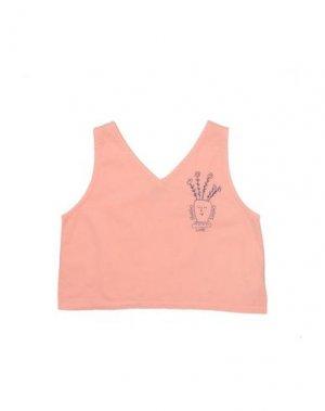 Блузка BOBO CHOSES. Цвет: лососево-розовый