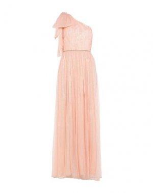 Длинное платье NISSA. Цвет: розовый