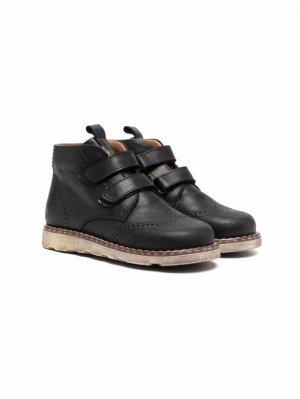 Ботинки на липучках Pèpè. Цвет: черный