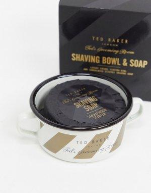 Мыло и чаша для бритья -Черный Ted Baker