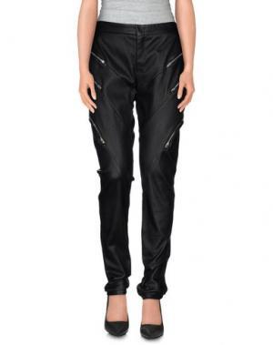 Повседневные брюки JAY AHR. Цвет: черный