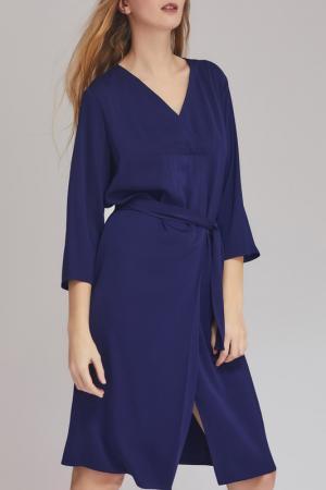 Платье Charuel. Цвет: темно-синий