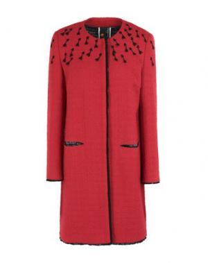 Пальто GIULIA ROSITANI. Цвет: красный
