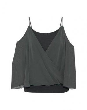 Блузка BAILEY 44. Цвет: стальной серый