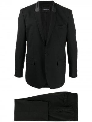 Строгий костюм-двойка Frankie Morello. Цвет: черный