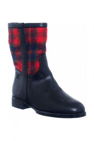 High boots Roccobarocco. Цвет: black