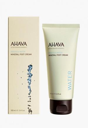Крем для ног Ahava Deadsea Water Минеральный, 100 мл. Цвет: прозрачный