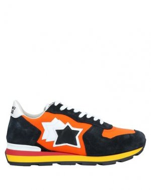 Кеды и кроссовки ATLANTIC STARS. Цвет: оранжевый