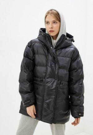 Куртка утепленная adidas by Stella McCartney ASMC MID PUFFER. Цвет: черный
