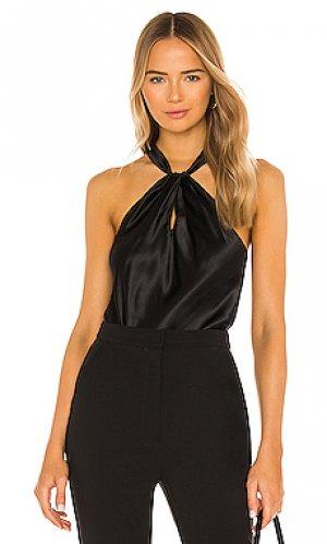 Блузка wanda Amanda Uprichard. Цвет: черный